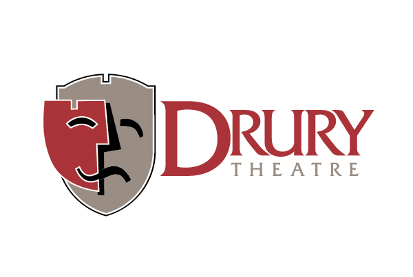 Drury Theatre Logo + Season Materials branding Work drurytheatre fi