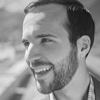 Josh headshot Kettle Fire Creative branding owner graphic designer