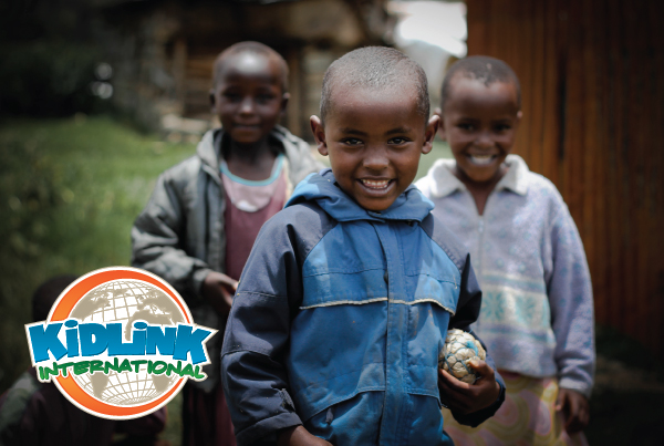 Nonprofit Fundraising + Website<br/>Kidlink International branding Work kidlink fundraisingmaterials fi