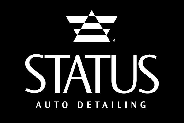 Status Auto Detailing Initial Branding branding Work status fi