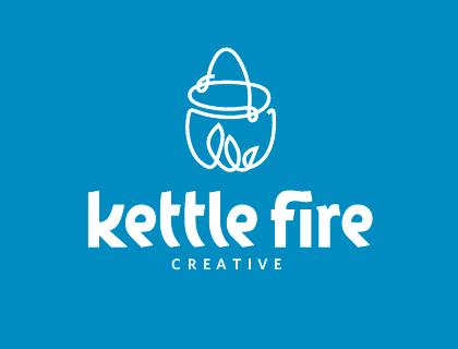 Kettle Fire Creative logotype rebrand logo redesign brand refresh rebranding rebrand 4 Things I Learned Rebranding a Branding Firm kf logo
