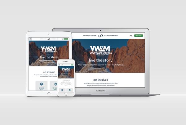 YWAM SF Rebrand Collateral branding Work ywamsf collateral fi