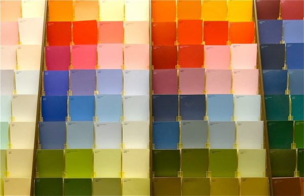 Color Space paint swatches Kettle Fire Creative color space Beginner's Guide to Color Space: RGB, CMYK, and Pantone paint store 2 e1476390635190