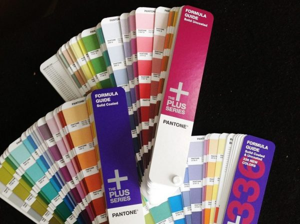 Color Space Pantone color guide Kettle Fire Creative color space Beginner's Guide to Color Space: RGB, CMYK, and Pantone pantone guides on black e1476391084106