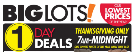 Black Friday marketing strategies limited time offer Big Lots Kettle Fire Creative black friday 5 Ways You've Been Tricked by Black Friday Marketing Strategies Big Lots limited time e1479512815109