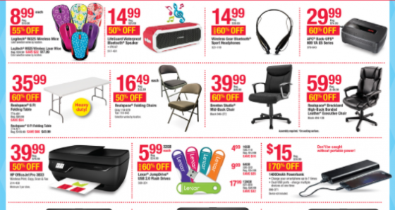 Black Friday marketing strategies 99 cents Office Max Kettle Fire Creative black friday 5 Ways You've Been Tricked by Black Friday Marketing Strategies Office psych price e1479512648417
