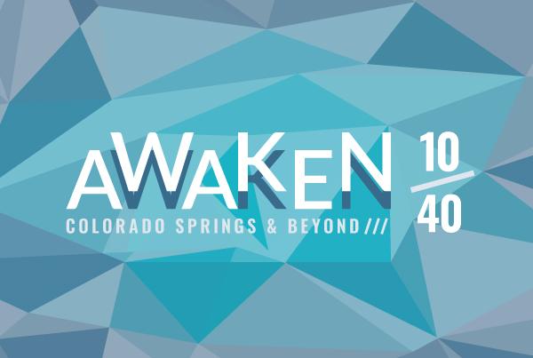Awaken 10/40 Event Identity Design