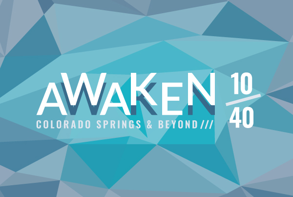 Awaken 10/40 Event Identity Design branding Kettle Fire Creative – Branding Colorado Springs awaken fi
