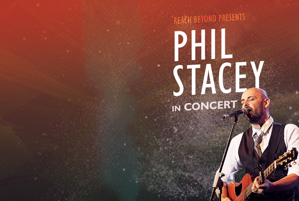 Phil Stacey Concert Identity