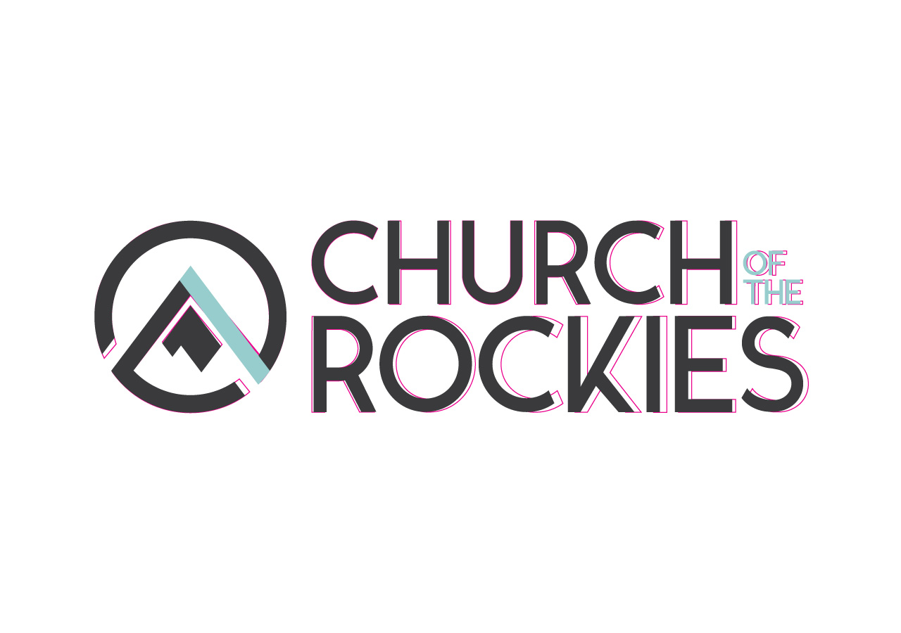church brand collateral logo refresh Kettle Fire Creative brand collateral Brand CollateralChurch of the Rockies cotr logo revision