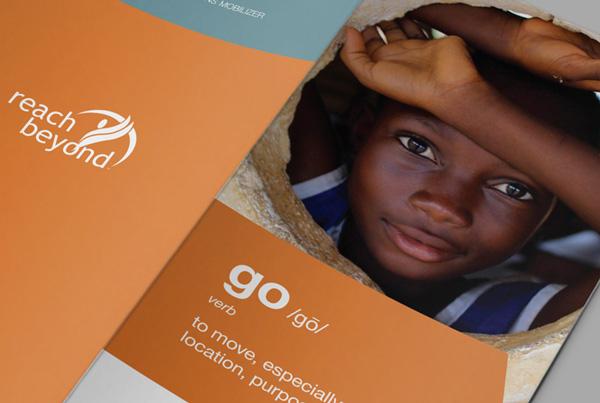 Recruitment Brochure<br/>Reach Beyond branding Work reach beyond collateral fi