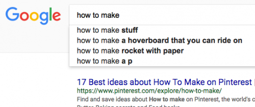 how to come up with blog ideas, Google autocomplete, Kettle Fire Creative blog ideas How to Come Up with Blog Ideas: 15 Simple Strategies Screen Shot 2017 05 01 at 10