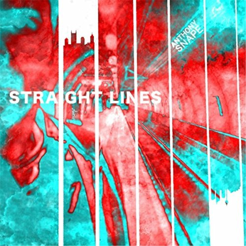 Anthony Snape Straight Lines album artwork, top album covers 2017, Kettle Fire Creative album cover Top 17 Album Covers of 2017 (so far) Anthony Snape Straight Lines