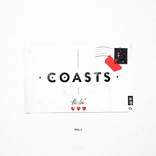 Coasts This Life Vol. 1 album artwork, top album covers 2017, Kettle Fire Creative album cover Top 17 Album Covers of 2017 (so far) Coasts This Life