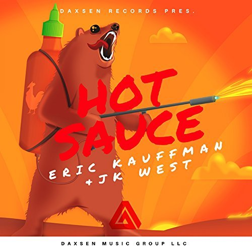 Eric Kauffmann JK West Hot Sauce album artwork, top album covers 2017, Kettle Fire Creative album cover Top 17 Album Covers of 2017 (so far) Eric Kauffmann Hot Sauce