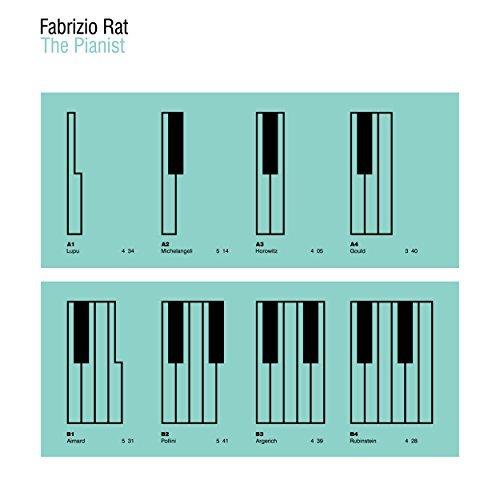 Fabrizio Rat The Pianist album artwork, top album covers 2017, Kettle Fire Creative album cover Top 17 Album Covers of 2017 (so far) Fabrizio Rat The Pianist