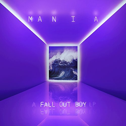 Fall Out Boy Mania album artwork, top album covers 2017, Kettle Fire Creative album cover Top 17 Album Covers of 2017 (so far) Fall Out Boy M A N I A