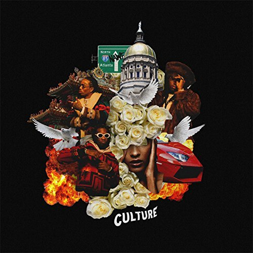 Migos Culture album artwork, top album covers 2017, Kettle Fire Creative album cover Top 17 Album Covers of 2017 (so far) Migos Culture