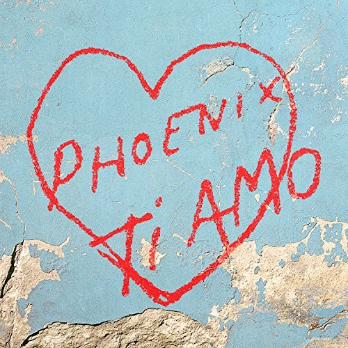 Phoenix Ti Amo album artwork, top album covers 2017, Kettle Fire Creative album cover Top 17 Album Covers of 2017 (so far) Phoenix Ti Amo