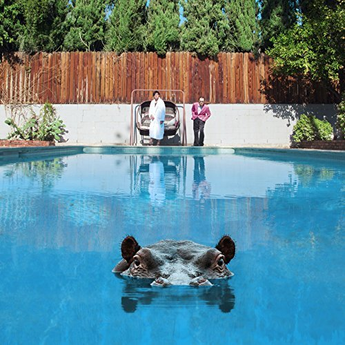 Sparks Hippopotamus album artwork, top album covers 2017, Kettle Fire Creative album cover Top 17 Album Covers of 2017 (so far) Sparks Hippopotamus