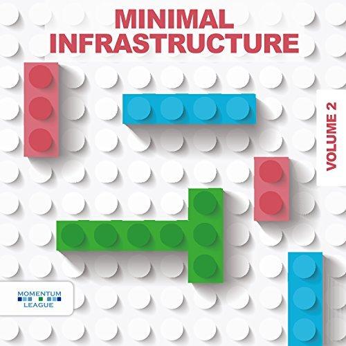 Minimal Infrastructure Vol. 2 album cover artwork, top album covers 2017, Kettle Fire Creative album cover Top 17 Album Covers of 2017 (so far) Various Minimal Infrastructure Vol