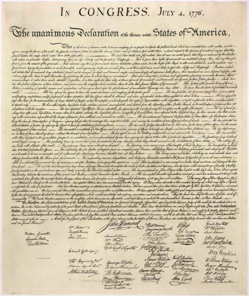 U.S. brand standards, branding USA, declaration of independence, Kettle Fire Creative brand Branding the USA: Brand Standards for the United States, 1776 Declaration of Independance e1499199234453