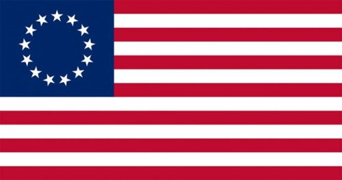 U.S. brand standards, branding USA, Betsy Ross flag Kettle Fire Creative brand Branding the USA: Brand Standards for the United States, 1776 US flag 13 stars     Betsy Ross e1499199203268
