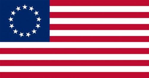 U.S. brand standards, branding USA, Betsy Ross flag Kettle Fire Creative brand Branding the USA: Brand Standards for the United States, 1776 US flag 13 stars     Betsy Ross e1499199203268