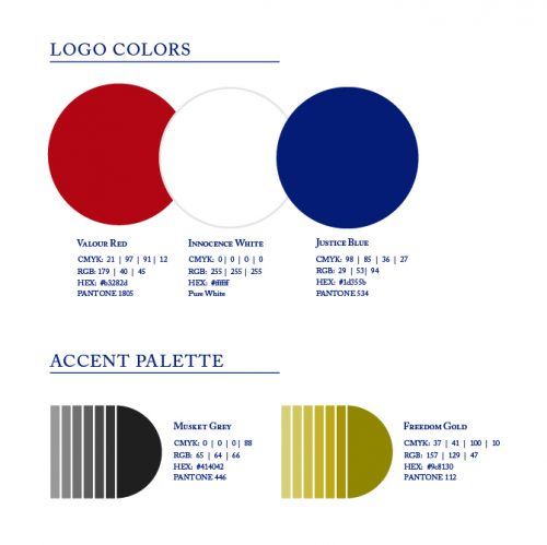 U.S. brand standards, branding USA, color palette, Kettle Fire Creative brand Branding the USA: Brand Standards for the United States, 1776 colors1 e1499202648513