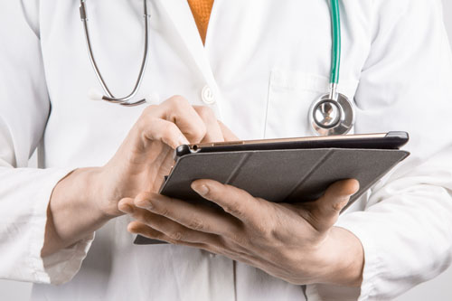Sales process questions, pain in sales, doctor, Kettle Fire Creative sales process Start Well to End Well: 5 Questions to Ask in the Sales Process doctor with tablet
