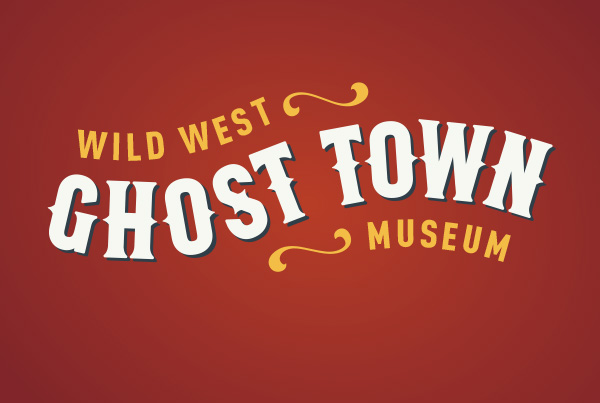 Rebrand + Web Design<br/>Ghost Town Museum branding Work ghost town fi