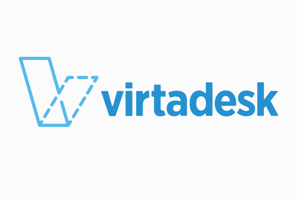 Branding + Logo Design<br/>VirtaDesk branding Kettle Fire Creative – Branding Colorado Springs virtadesk logo fi