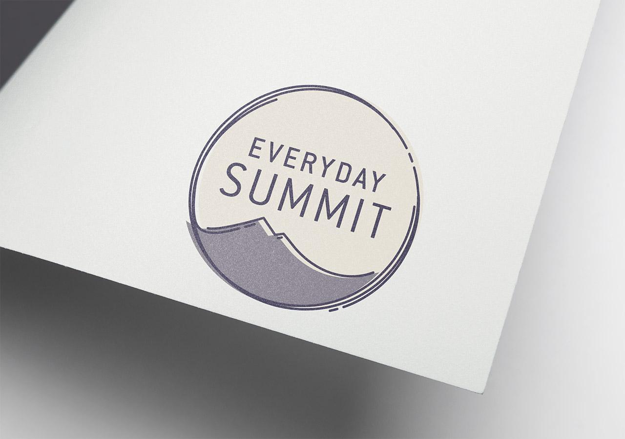 logo design, brand story, Everyday Summit, Etsy shop logo, Kettle Fire Creative logo design Logo Design + Brand Story Everyday Summit everydaysummit logo 1