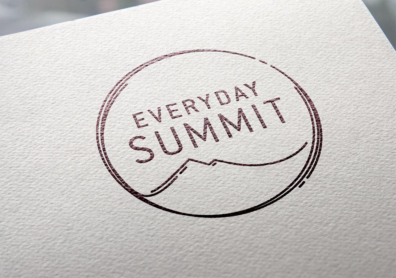 logo design, brand story, Everyday Summit, Etsy shop logo, Kettle Fire Creative logo design Logo Design + Brand Story Everyday Summit everydaysummit logo 2