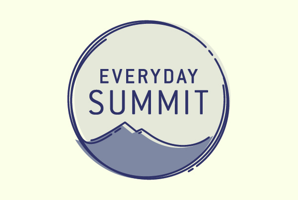 Logo Design + Brand Story<br/> Everyday Summit branding Work everydaysummit logo fi 2