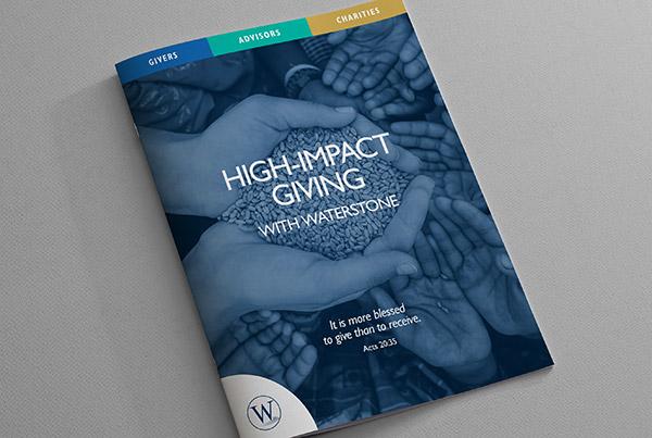 Sales Booklet<br/> WaterStone branding Work waterstone booklet fit