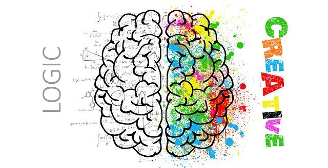 right left brain creative creativity logic creativity Creativity: 4 Perspectives on Originality and Creative Thinking brain 2062055 640
