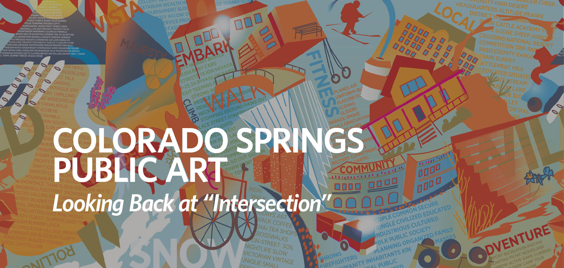 "colorado springs Colorado Springs Public Art: Looking Back at ""Intersection"" intersection fi"