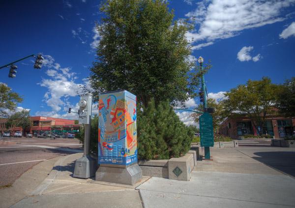 """colorado springs Colorado Springs Public Art: Looking Back at """"Intersection"""" intersection1"""
