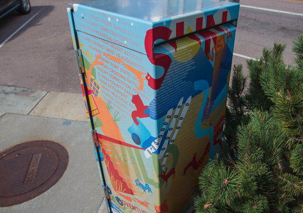 """colorado springs Colorado Springs Public Art: Looking Back at """"Intersection"""" intersection2"""