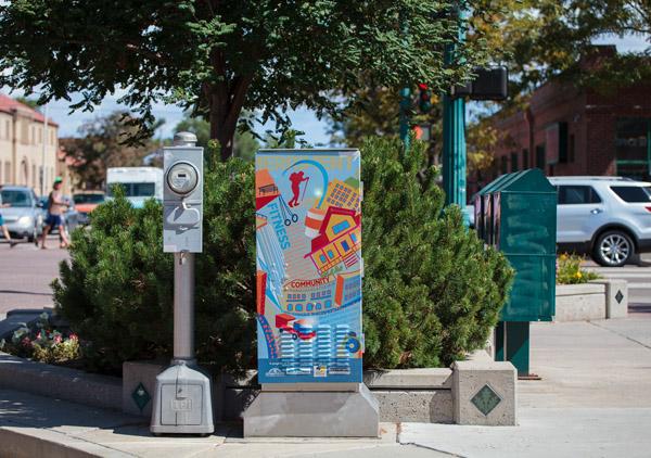 """colorado springs Colorado Springs Public Art: Looking Back at """"Intersection"""" intersection5"""