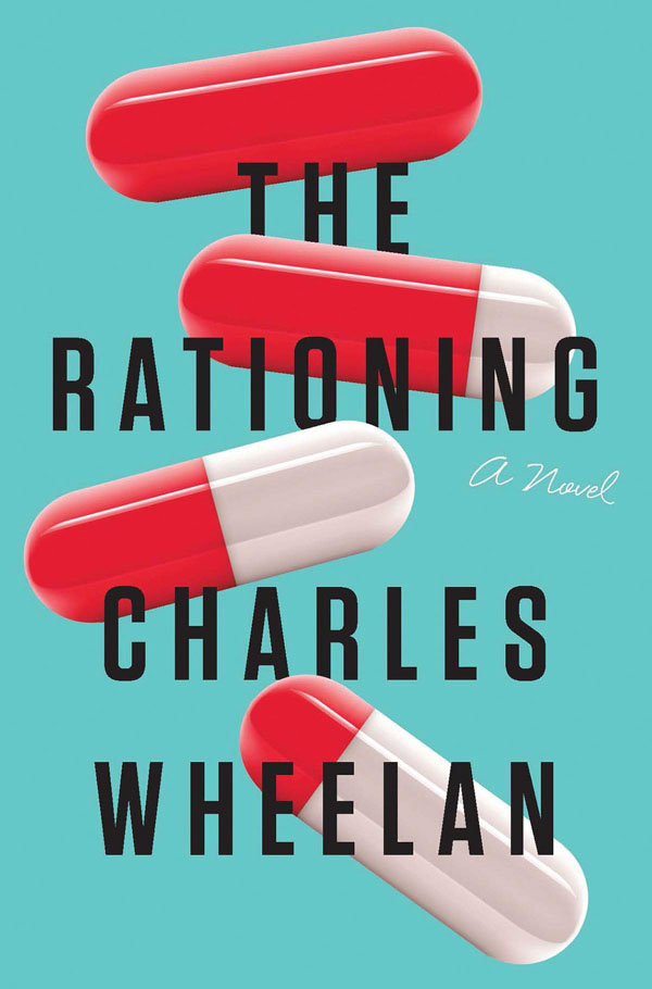 Book cover designs: Best Fiction Cover Art of 2019 by Kettle Fire Creative blog. The Rationing by Charles Wheelan--best minimal design book cover design Book Cover Designs: Best Fiction Cover Art of 2019 Rationing
