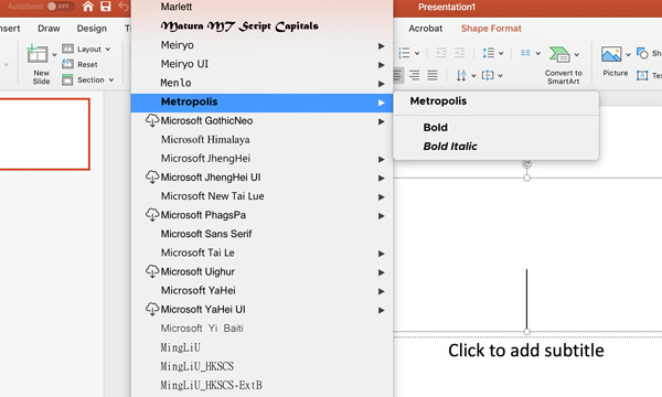 How to Install Fonts on Mac or Windows and Use Them Legally by Kettle Fire Creative. PowerPoint font screenshot install fonts How to Install Fonts on Mac or Windows and Use Them Legally PowerPoint fonts