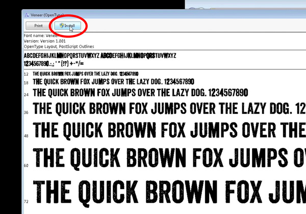How to Install Fonts on Mac or Windows and Use Them Legally by Kettle Fire Creative. Windows font screenshot install fonts How to Install Fonts on Mac or Windows and Use Them Legally Windows install button