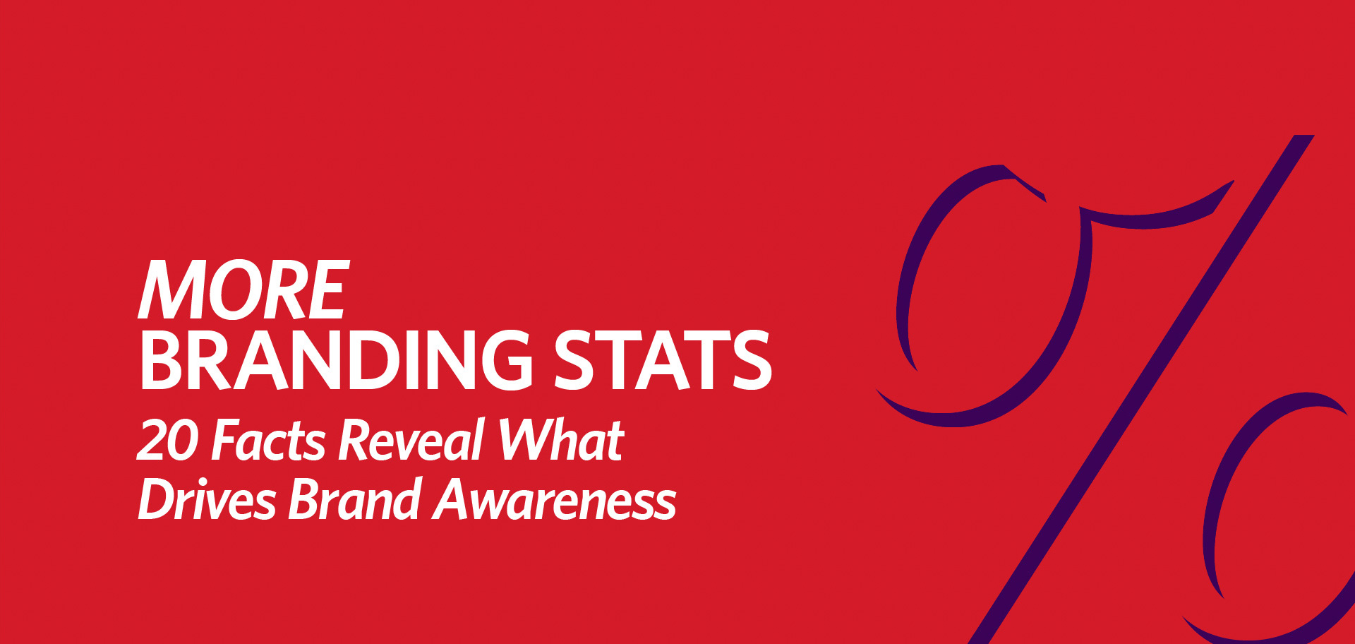 More Branding Stats: 20 Facts Reveal What Drive Brand Awareness by Kettle Fire Creative (cover image) branding More Branding Stats: 20 Facts Reveal What Drives Brand Awareness more branding stats fi