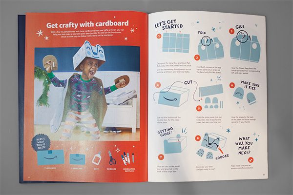 Printed Perfection: Amazon's Toy Catalog Design Makes Us Smile by Kettle Fire Creative. Amazon 2019 Play Together catalog spread. catalog design Printed Perfection: Amazon's Toy Catalog Design Makes Us Smile MG 9611
