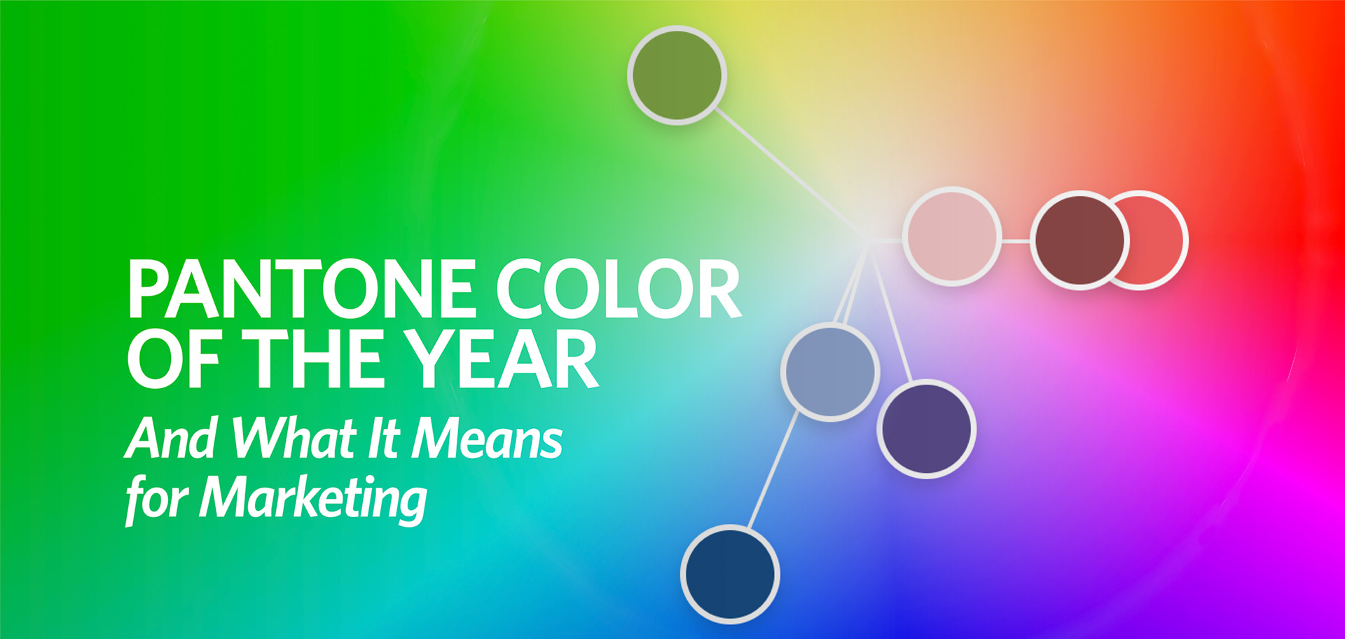 Pantone Color of the Year 2020 Classic Blue, color psychology, color marketing, past colors of the year, Kettle Fire Creative pantone Pantone Color of the Year & What It Means for Marketing pantone colors fi