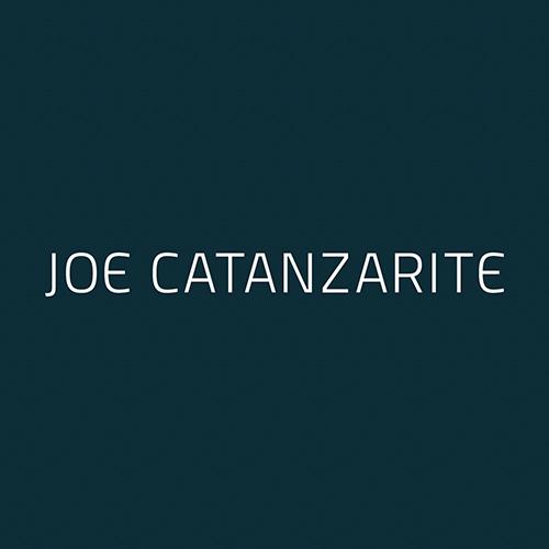 Joe Catanzarite financial planner public speaker logo design by Kettle Fire Creative