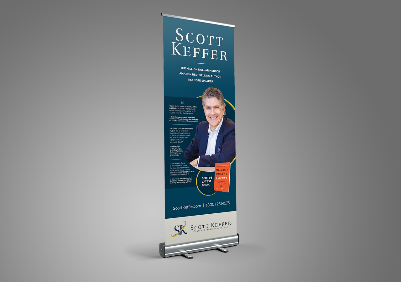 Scott Keffer author banner by Kettle Fire Creative event collateral Event CollateralPublic Speaker + Coach sk banner mockup