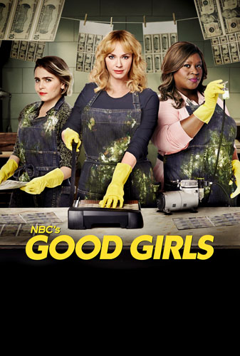 20 best tv show poster designs of 2020, Kettle Fire Creative blog, Good Girls, best photo handling poster design 20 Best TV Show Poster Designs of 2020 good girls